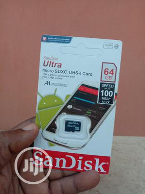 64GB Sandisk Memory Card | Accessories for Mobile Phones & Tablets for sale in Lagos State, Ikeja