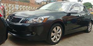 Honda Accord 2008 3.5 EX Automatic Black | Cars for sale in Lagos State, Ikeja
