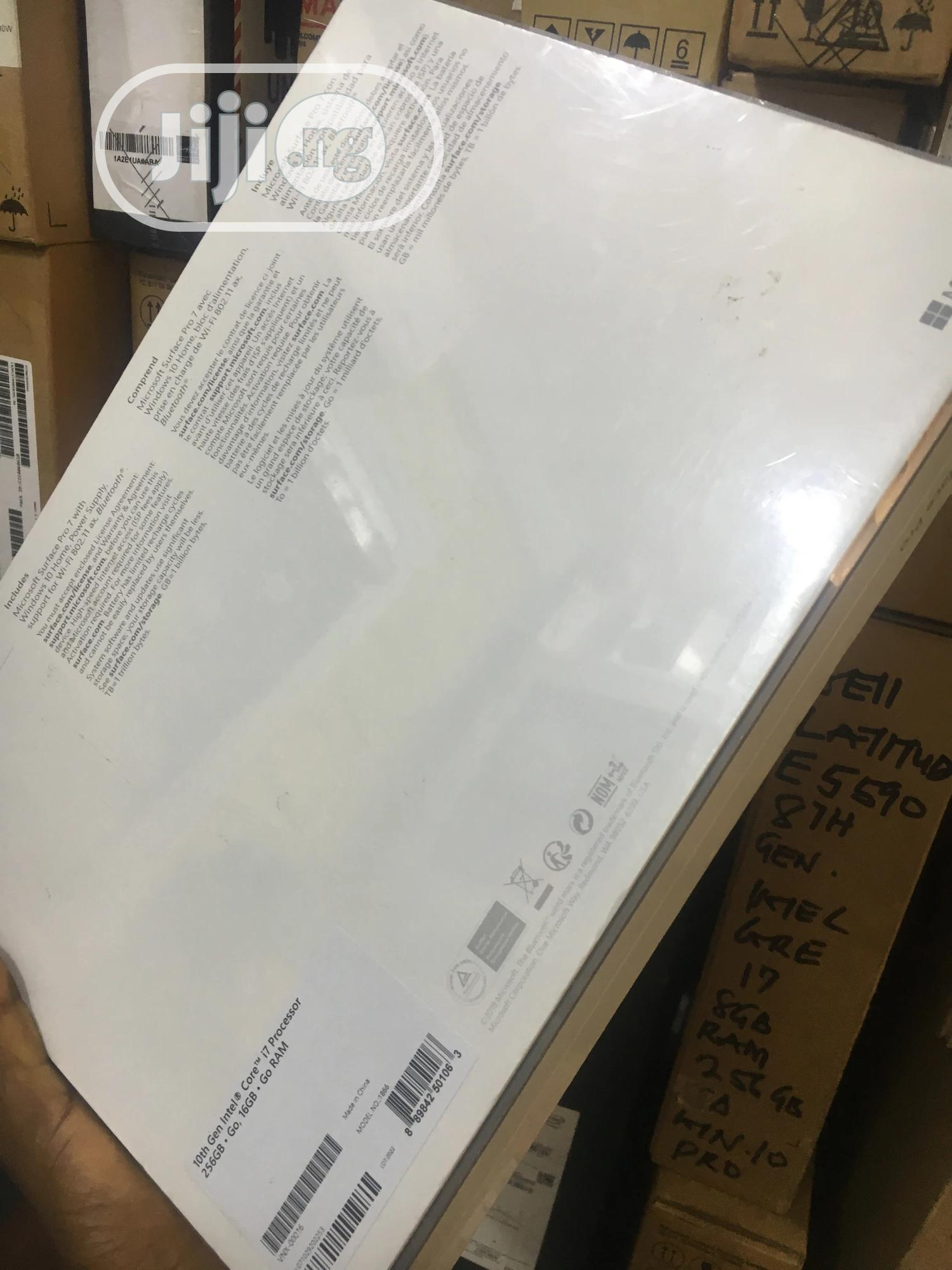 New Laptop Microsoft Surface Pro 16GB Intel Core i7 SSD 256GB | Laptops & Computers for sale in Ikeja, Lagos State, Nigeria