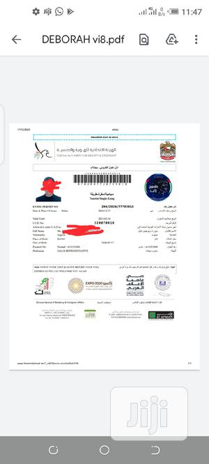 3 Months Dubai Visa With Pick and 100% Sure Job Assistance | Travel Agents & Tours for sale in Abuja (FCT) State, Wuse 2