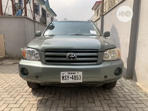 Toyota Highlander 2004 V6 AWD Green   Cars for sale in Lagos State, Ikeja