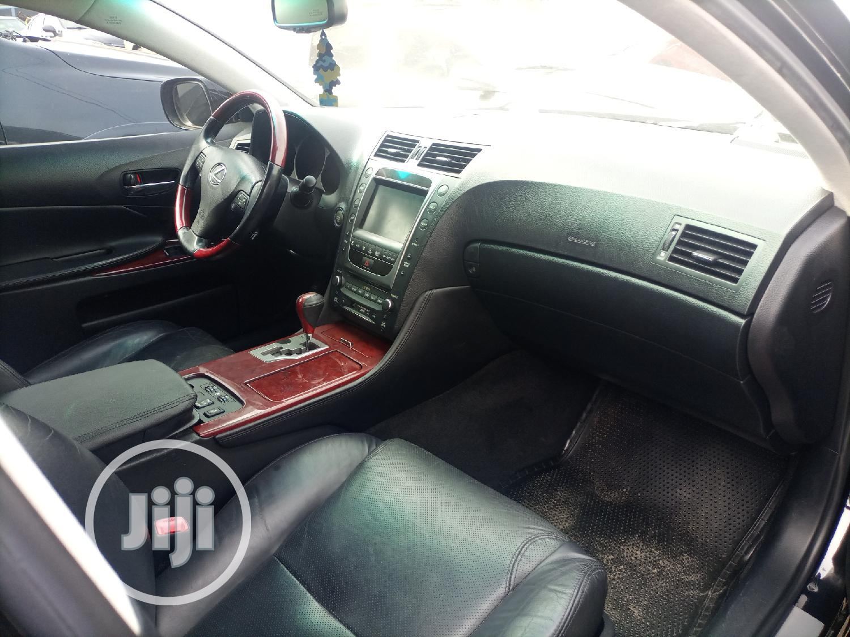 Lexus GS 2009 350 Black   Cars for sale in Apapa, Lagos State, Nigeria