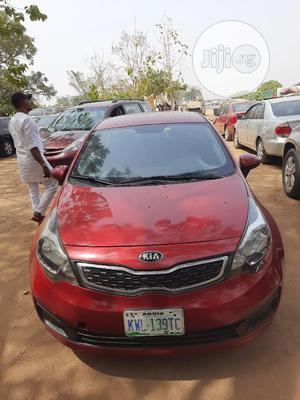Kia Rio 2015 Red | Cars for sale in Abuja (FCT) State, Central Business District
