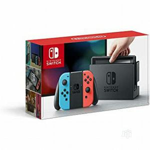 Nintendo Switch - Neon Red/Neon Blue Joycon Controller | Video Game Consoles for sale in Lagos State, Ikeja