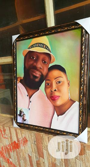 Portrait, Oil on Canvas, Painting, Drawing, Couple | Arts & Crafts for sale in Lagos State, Alimosho
