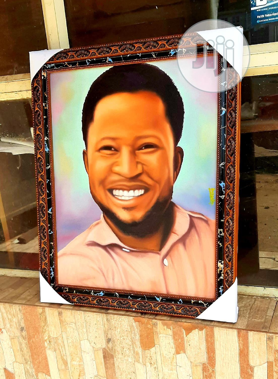 Portrait, Oil on Canvas, Painting, Drawing, Couple   Arts & Crafts for sale in Alimosho, Lagos State, Nigeria