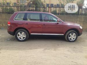 Volkswagen Touareg 2005 3.2 V6 Automatic Red   Cars for sale in Lagos State, Surulere