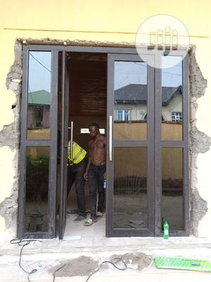 Aluminium Swing Door (Double Door | Doors for sale in Lagos State, Agege