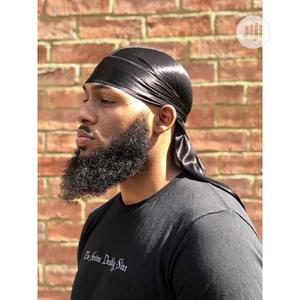 Black Silky Durag | Be Attractive | Clothing Accessories for sale in Abuja (FCT) State, Gwarinpa