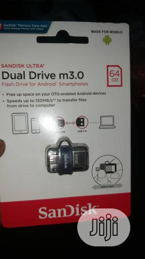 64gb Otg Sandisk Flash Drive   Computer Accessories  for sale in Abuja (FCT) State, Wuse