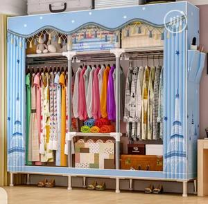 25mm Pole Super Strong Mobile Steel Wardrobe | Furniture for sale in Lagos State, Oshodi