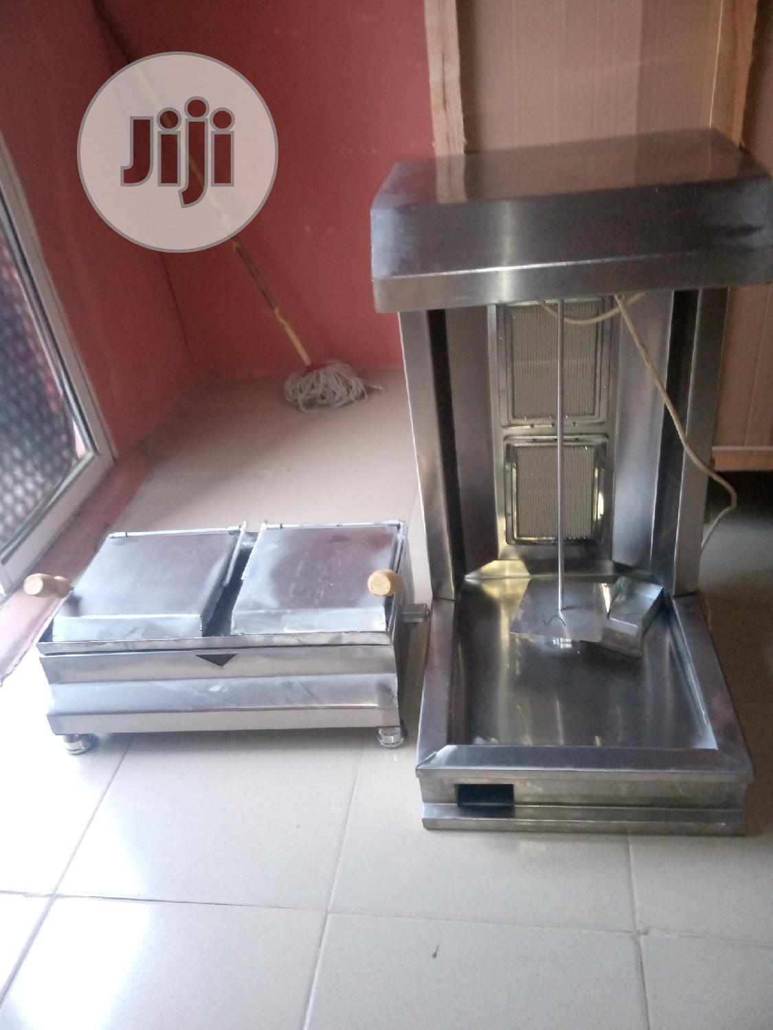 Shawarma Machine And Toaster Grill New One