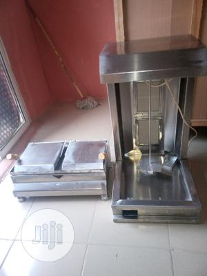 Shawarma Machine And Toaster Grill New One | Restaurant & Catering Equipment for sale in Lagos State, Ojo