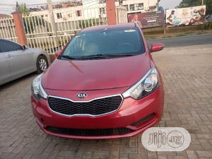 Kia Forte 2014 EX Hatchback Red | Cars for sale in Lagos State, Ojodu