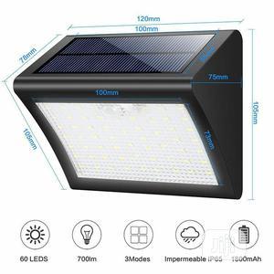 Solar Motion Sensor Light - 60 Leds | Solar Energy for sale in Lagos State, Ikeja