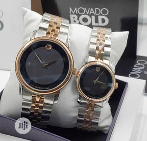High Quality Movado Bold Couple Stainless Steel Watch | Watches for sale in Lagos State, Magodo