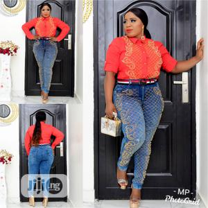 New Classic Female Turkey Shirt With Trousers   Clothing for sale in Lagos State, Isolo