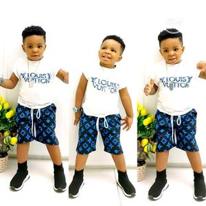Kid Boys Tshirt and Short Pants | Children's Clothing for sale in Lagos State, Kosofe