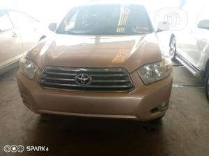 Toyota Highlander 2008 Limited 4x4 Gold | Cars for sale in Lagos State, Amuwo-Odofin