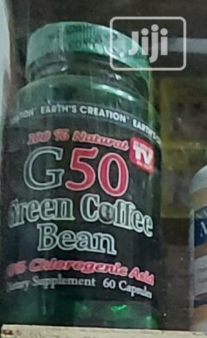 Earth Creation Green Coffee Bean Extract (60 Tablet   Vitamins & Supplements for sale in Lagos State, Ikeja