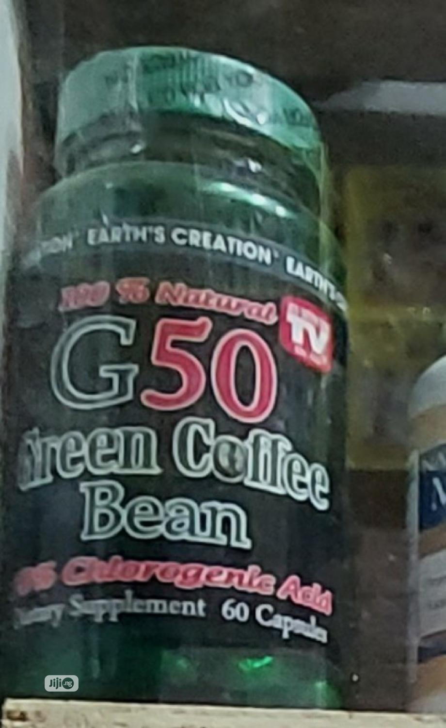 Earth Creation Green Coffee Bean Extract (60 Tablet