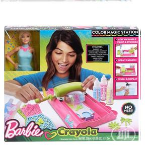 Barbie Crayola Color Magic Station Doll & Playset - Pink | Toys for sale in Lagos State, Ajah