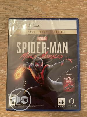 PS5 Spiderman Miles Morales   Video Game Consoles for sale in Lagos State, Agege