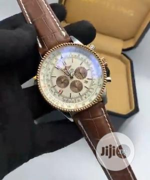 High Quality Breitling Aviation Dial Leather Watch   Watches for sale in Lagos State, Magodo