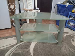 Glass Tv Stand   Furniture for sale in Abuja (FCT) State, Lokogoma