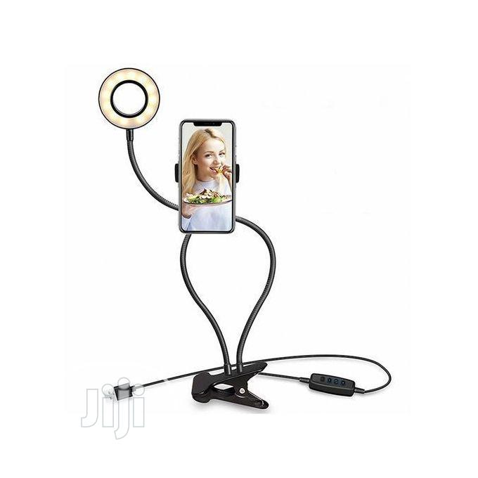 Selfie Ring Light Phone Holder Selfie Light for Smartphones | Accessories & Supplies for Electronics for sale in Maryland, Lagos State, Nigeria