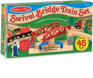 Melissa and Doug: Swivel Bridge Train Set | Toys for sale in Lagos State, Ajah