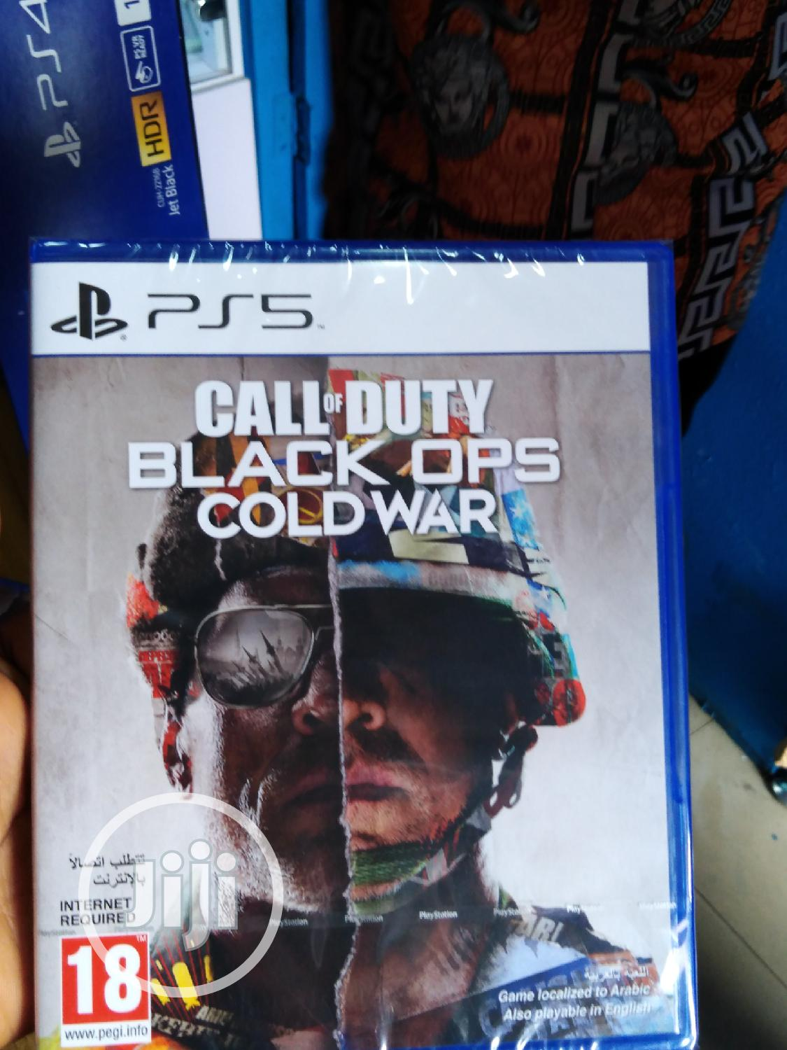 Archive: Brand New PS5 CD Call of Duty Black Ops COLD WAR