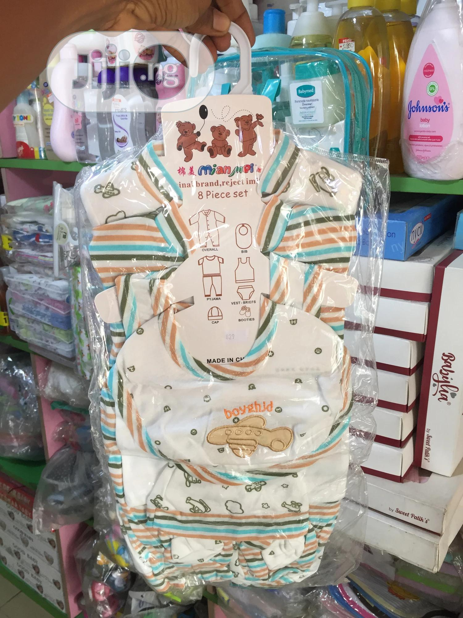 9 Pieces Cloth Set   Children's Clothing for sale in Surulere, Lagos State, Nigeria