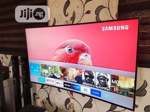 "Tiny Frame Samsung 55"" Curved Uhd 4k Smart Tv | TV & DVD Equipment for sale in Lagos State, Alimosho"