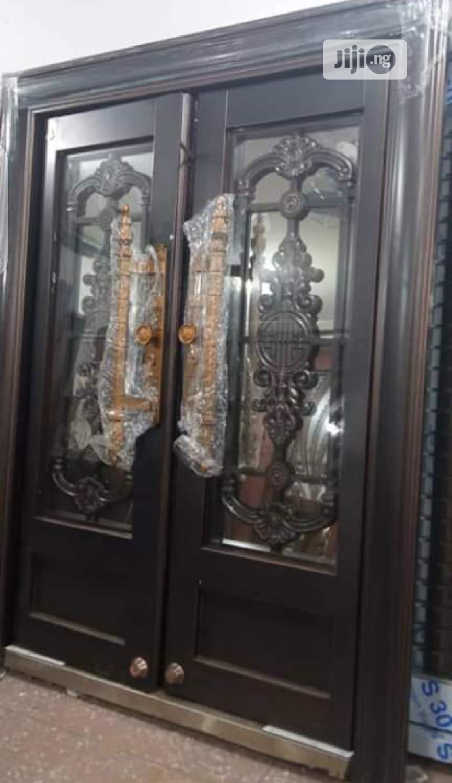 Archive: 5ft by 7ft Copper Swing Glass Door