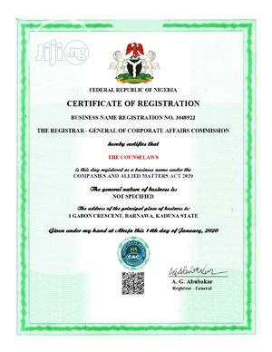 Business Name - 17k.   Legal Services for sale in Kaduna State, Kaduna / Kaduna State