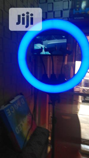 18inches Ring Light Multiple Colours and Remote Control | Accessories & Supplies for Electronics for sale in Lagos State, Lagos Island (Eko)