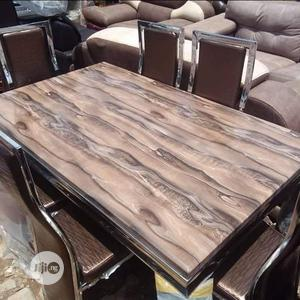 Marble Dining Table By 6 | Furniture for sale in Lagos State, Badagry