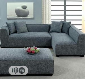 Innovative Modern L Shape & Coffee Ottoman   Furniture for sale in Lagos State, Ilupeju