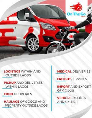 Logistics ,Food Deliveries,Haulage Services, Import and Exp.   Logistics Services for sale in Lagos State, Alimosho