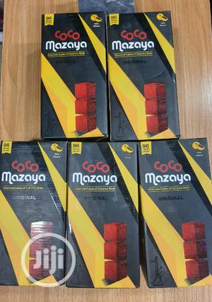 Coco Mazaya Charcoal Cubes Of Coconut Shell For Shisha | Tobacco Accessories for sale in Lagos State, Surulere
