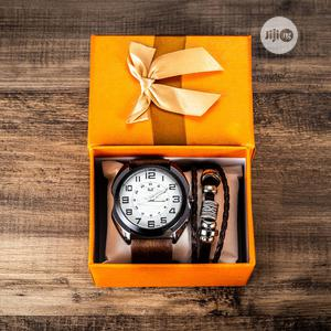 Men Wristwatch With Wrist Bands | Watches for sale in Lagos State, Kosofe