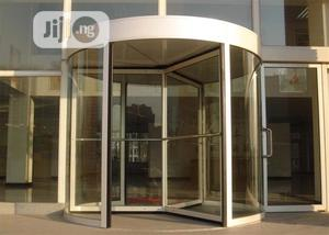 Automatic Revolving Hotel Entrance Sliding Barrier Main Gate   Safetywear & Equipment for sale in Abuja (FCT) State, Wuse
