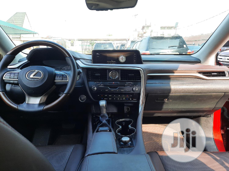 Lexus RX 2016 350 AWD Red | Cars for sale in Amuwo-Odofin, Lagos State, Nigeria