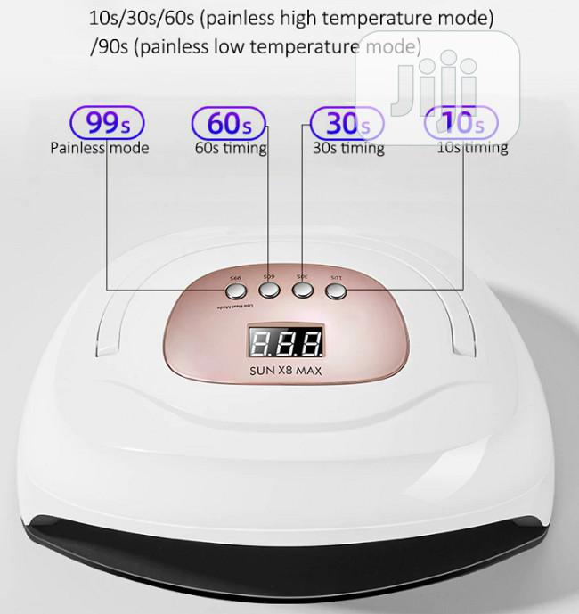 Max Uv Nail Dryer Gel Polish With Automatic Sensor | Tools & Accessories for sale in Lugbe District, Abuja (FCT) State, Nigeria