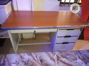 Metal 4feet Table With Wooden Top. | Furniture for sale in Lagos State, Egbe Idimu