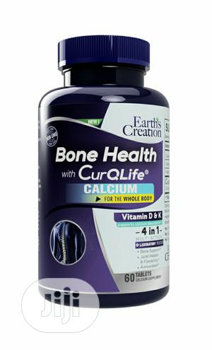 Earth Creation Bone Health With Curqlife, Osteoporosis | Vitamins & Supplements for sale in Lagos State, Ikeja