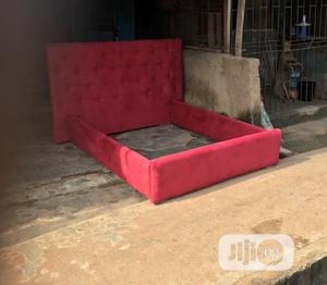 Upholstery Bed Frame With Bed Side | Furniture for sale in Lagos State, Alimosho