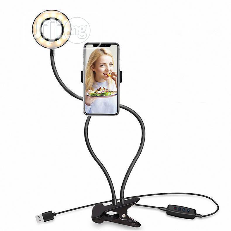 Professional Selfie Ring Light + Phone Holder