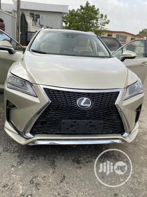 Lexus RX 2017 350 FWD Gold | Cars for sale in Lagos State, Ikeja